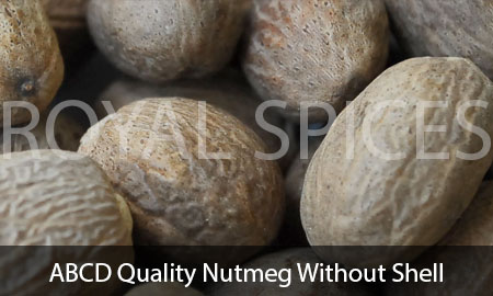 ABCD Quality Nutmeg Without Shell